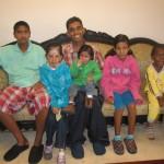 Group taken to India